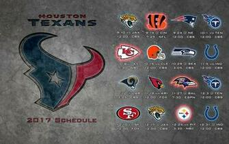 Schedule wallpaper Texans