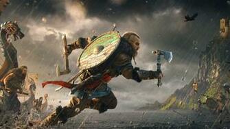 4K Assassins Creed Valhalla 6 PS4Wallpaperscom
