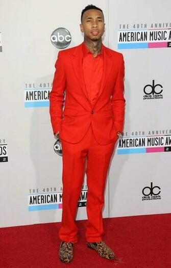 Tyga images Tyga at American Music Awards HD wallpaper and