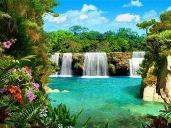 3D Waterfalls Screensaver Screensavers   Download 3D Waterfalls