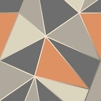Orange Geometric Wallpapers