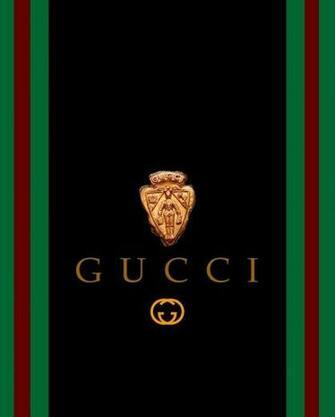 Gucci Black Gold Wallpaper Background Theme Desktop