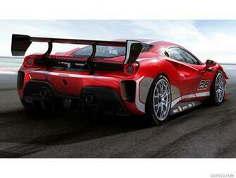 2020 Ferrari 488 Challenge Evo   Rear Three Quarter HD Wallpaper 2