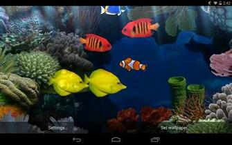 Fish Aquarium Live Wallpaper for Android   download