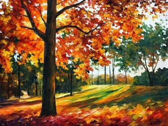 PAINTING] Autumn Paintings by Leonid Afremov   ART FOR YOUR WALLPAPER