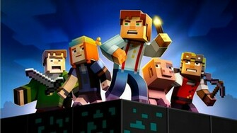 Minecraft Story Mode 2015 Wallpapers   1366x768   260585