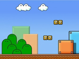 art picture mario background kdxkuphv