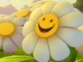 Cute 3D Flower Wallpaper