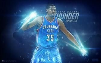 NBA Super Star Wallpaper Kevin Durant Bring The Thunder NBA
