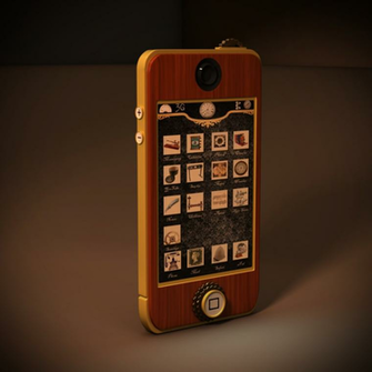 Steampunk IPhone by MuJushin