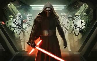 Kylo Ren and First Order Stormtroopers Wallpapers HD Wallpapers