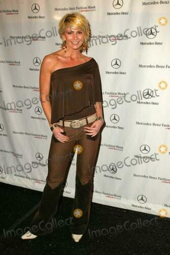 Sheffield at the Mercedes Benz Fashion Week Arrivals Smashbox Studios