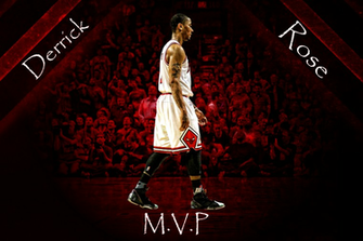 Derrick Rose MVP Wallpaper Medium photo DerrickRoseMVPTextMediumpng