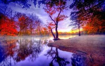 Romantic Place Lake Full HD Size Nature Wallpapers Downloads Full