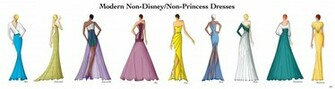 Modern Non DisneyNon Princess Dresses by Ellevira