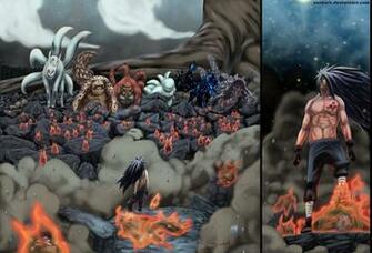 Madara Uchiha images Madara vs Tailed Beasts HD wallpaper and