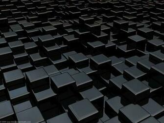 Black cube world wallpapers 1920x1440