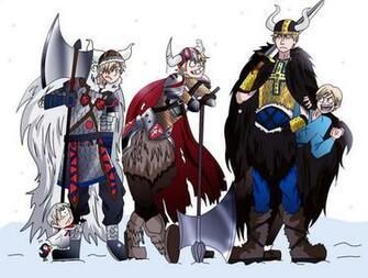 Hetalia Nordics   Vikings by HolderofTruth