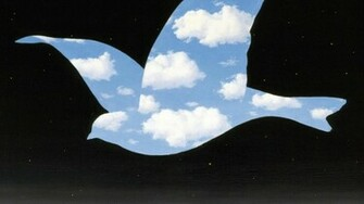 RENE MAGRITTE THE KISS WALLPAPER   76809   HD Wallpapers