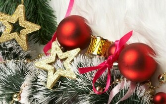 Download Christmas decorations wallpaper