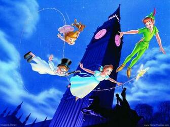 Peter Pan Wallpaper Disney Desktop Wallpaper
