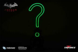 riddler question mark wallpaper