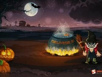 Desktop Wallpaper Halloween Wallpaper Background Page 2