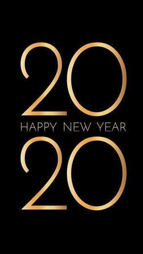Happy New Year 2020 Wallpaper 05   [1440x2560]