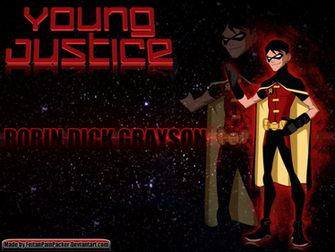 Young Justice Robin Dick Grayson Wallpaper by