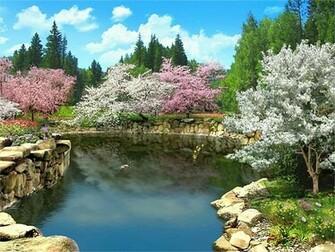 Spring Blossom 3D screensaver