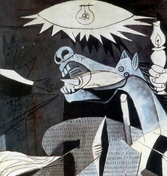 Guernica Wallpaper Art Pablo Picasso Wallpaper