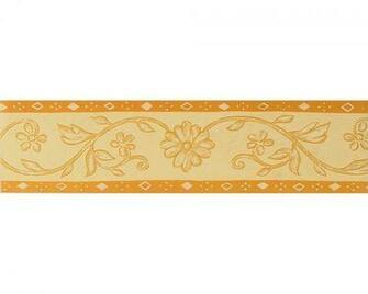 Only Borders 8 wallpaper border Floral 5241 33 yellow orange per m
