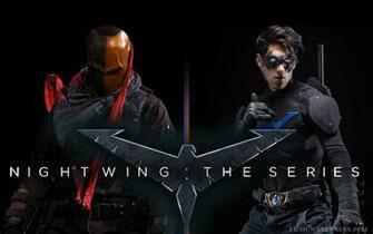 Nightwing Desktop HD Wallpaper