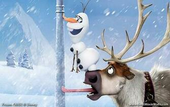 Olaf and Sven wallpaper BestMovieWalls by BestMovieWalls