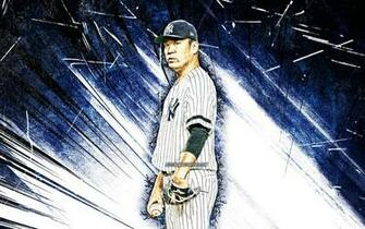 Download wallpapers 4k Masahiro Tanaka grunge art MLB New York