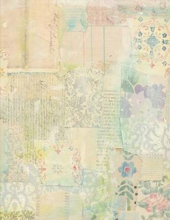 Jodie Lee Designs Printable Vintage Wallpaper Collage