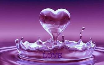 Beautiful purple heart wallpaper purple heart wallpaper