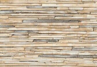 Wallpaper Whitewashed Wood Photo Wall Mural Large Size Wall Art Wooden
