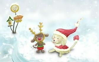 Cute Christmas wallpaper   384393