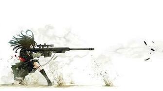 anime sniper wallpaper   ForWallpapercom