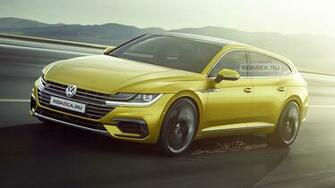 VW Arteon Shooting Brake imagined   Rendering Cars Daily updated
