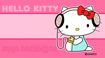 Hello Kitty Pink Desktop Wallpaper Download Curhat Aja