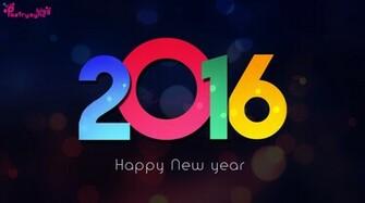 Happy New Year 2016 Desktop Wallpaper