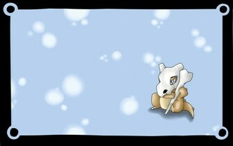 Cubone Wallpaper Cubone wallpaper wip complete