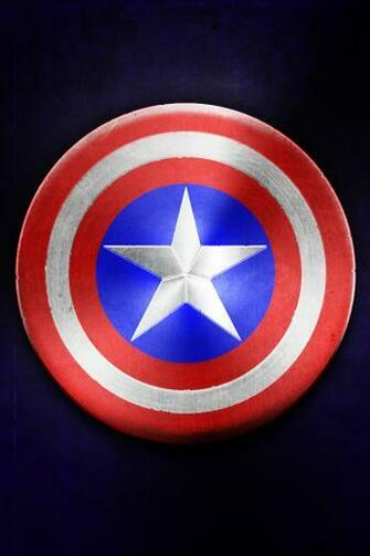 iphone wallpaper by tinsdar d4v1cpo Captain America Shield Wallpaper
