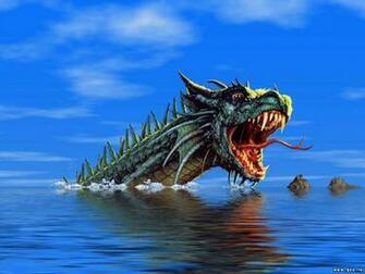 Water dragon   Dragons Wallpaper 10584145