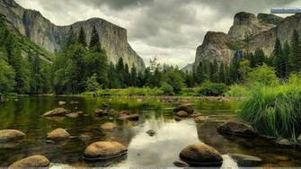 Yosemite National Park Nice Scene Wallpaper