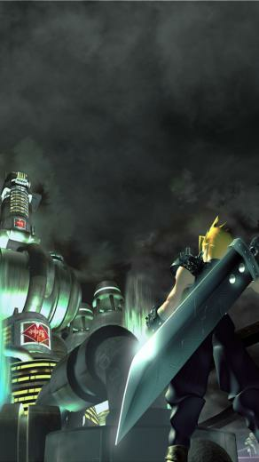 Final Fantasy VII Wallpaper for iPhone 5 by Windschatten69 on