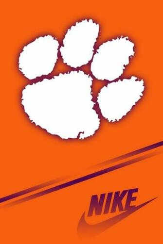 Nike Clemson Tigers iPhone HD Wallpaper