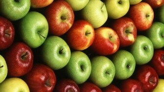 Colorful Apple Fruit Wallpapers   852x480   164061